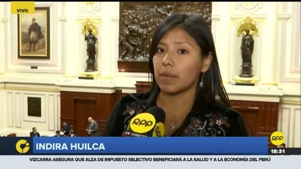 Indira Huilca plantea la creación de fiscalías especializadas en violencia de género