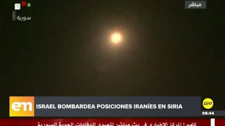 Siria confirmó tres muertos por los misiles lanzados por Israel