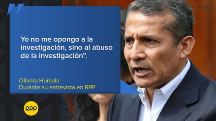 Galería | Las frases que dejó la entrevista a Ollanta Humala en RPP