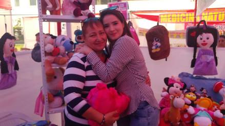 Peluches para mamá: Katiuska agradece el amor incondicional de su madre