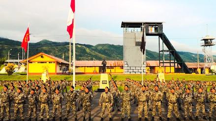 Soldados del Vraem mandan un saludo por el Día de la Madre