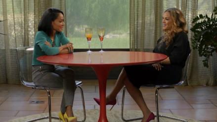 Jada Pinkett se reunió con la ex esposa de su marido Will Smith