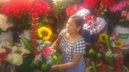 Chiclayo: sube precio de flores por el Día de la Madre