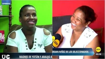 Mamás de Yoshimar Yotún y Miguel Araujo recuerdan la niñez de los seleccionados
