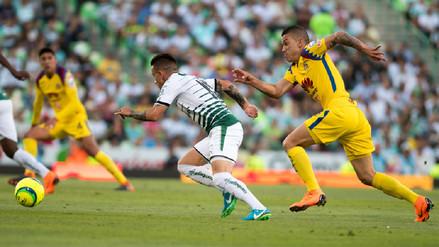 Santos Laguna empató ante América y se metió en la final de la Liga MX