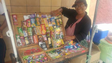 Lidia y su inagotable vocación de madre a los 64 años