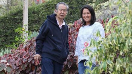 Keiko Fujimori comparte imágenes de encuentro con su padre