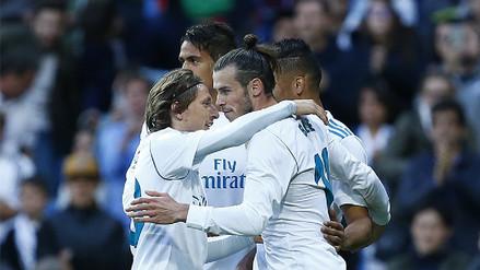 Real Madrid goleó 6-0 al Celta por la Liga Santander con un Gareth Bale como figura