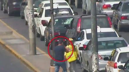 Delincuente fue capturado luego de ser grabado cuando robaba en la avenida Colonial