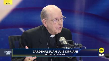 """Cipriani: """"Toda madre, por designio de Dios, es imagen de la Virgen María"""""""