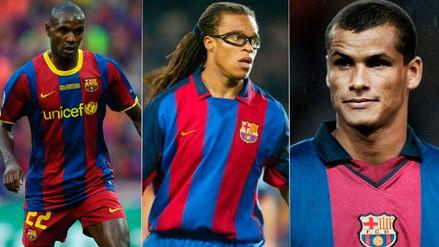 Conoce a las leyendas del Barcelona que vendrán al Perú