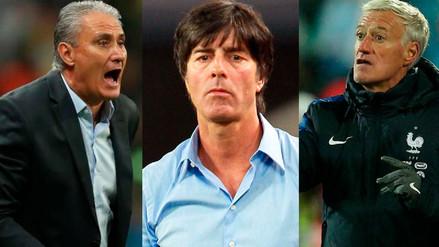 Los entrenadores mejores pagados que dirigirán en el Mundial de Rusia