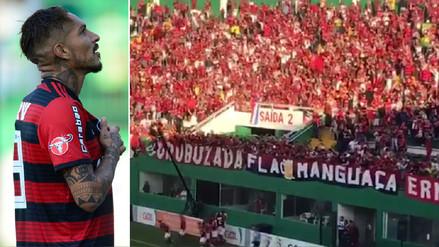 Así celebraron los hinchas del Flamengo el gol de Paolo Guerrero