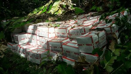 PNP decomisa más de 5 toneladas de insumos químicos usados para elaborar cocaína