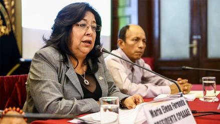 Congresista María Elena Foronda tiene a condenada por terrorismo como su asistente
