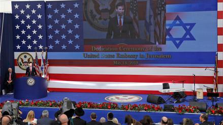 Estados Unidos inauguró oficialmente su embajada en Jerusalén