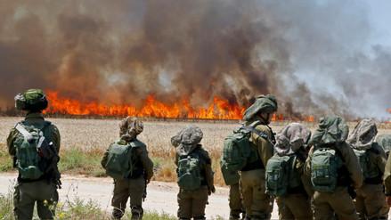 Ejército de Israel bombardeó objetivos de Hamas en Gaza