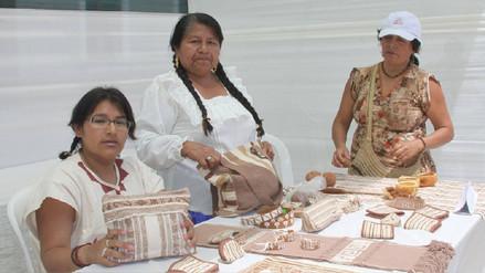 Artesana tucumana expondrá en Rusia textiles en algodón nativo