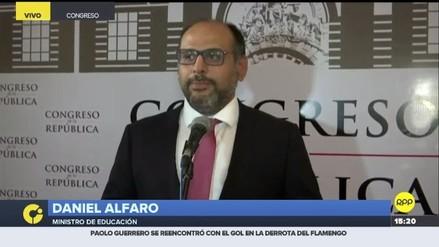 Daniel Alfaro: Los deberes e igualdad de oportunidades entre hombres y mujeres son