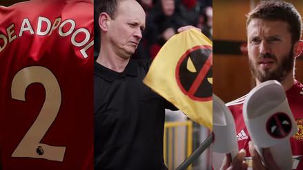 Deadpool se apoderó del Manchester United y sorprendió a los jugadores