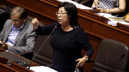 """María Elena Foronda: """"La señora Nancy Madrid ya no trabaja en mi despacho"""""""