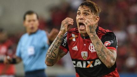 Paolo Guerrero espera la postura de Flamengo por la renovación de su contrato