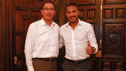 Vizcarra se reunió con Guerrero y dijo que es
