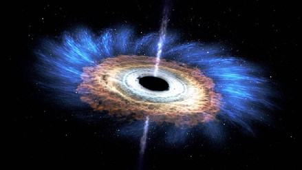 Astrónomos descubrieron el agujero negro de crecimiento más rápido del Universo