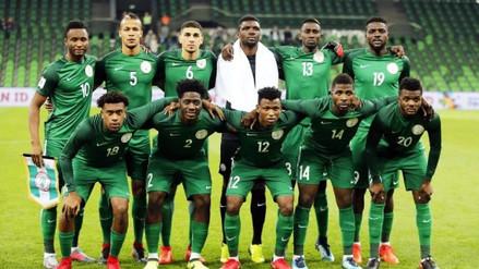Nigeria presentó su lista de preseleccionados para Rusia 2018