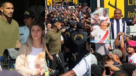 Fotos | Paolo Guerrero llegó a Lima y fue recibido por cientos de hinchas