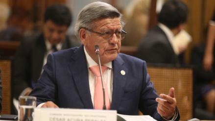 César Acuña aseguró que no firmó el contrato de concesión de Chavimochic
