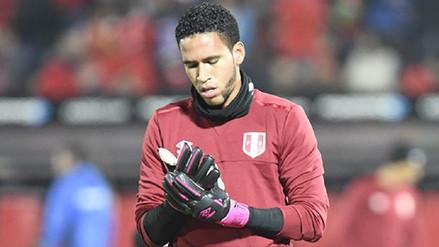 Pedro Gallese sufrió una lesión en el hombro y estará 6 días de baja