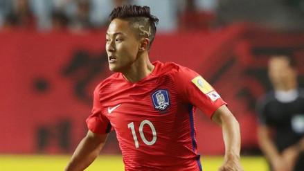 Corea del Sur presentó su lista previa de 28 futbolistas para Rusia 2018