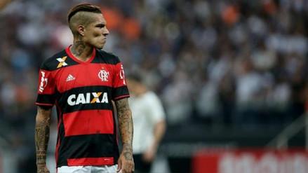Flamengo analiza contratar un delantero tras sanción a Paolo Guerrero