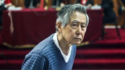 Ordenan impedimento de salida del país para Fujimori por caso Pativilca