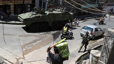 Al menos 15 niños fueron víctimas de balas perdidas en Río de Janeiro durante 2018