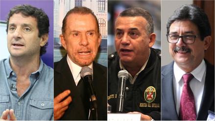 Ipsos | Reggiardo, Belmont, Urresti y Cornejo entre los favoritos a la alcaldía de Lima