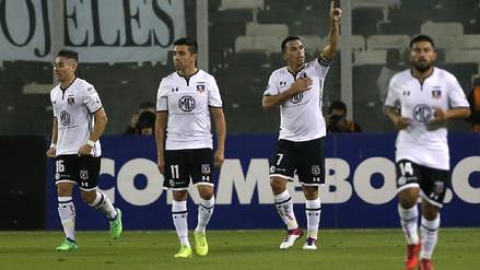 Colo Colo venció 2-0 a Bolívar en Chile y sigue con vida en la Libertadores