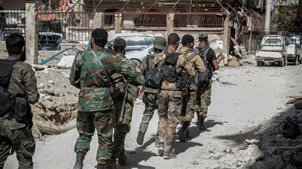 Fuerzas de Al Asad arrebataron a ISIS un barrio en el sur Damasco