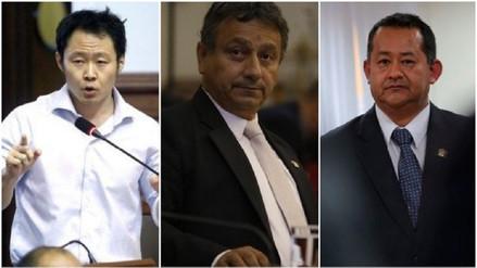 Informe recomienda la destitución de tres congresistas implicados en 'Kenjivideos'