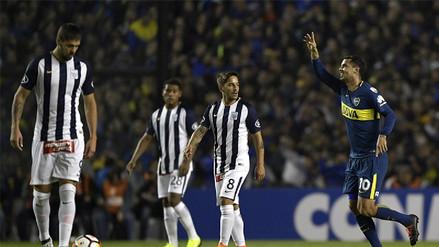 Alianza Lima cayó goleado frente Boca Juniors y se despidió de la Copa Libertadores