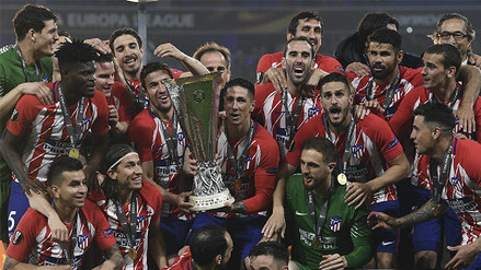 Atlético de Madrid derrotó 3-0 al Marsella y se proclamó campeón de la Europa League