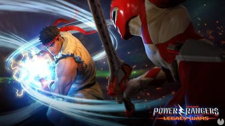 Ahora podrás luchar con los personajes de Street Fighter y Power Rangers en un mismo juego