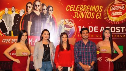 Maná, Bacilos y Café Tacvba le cantarán a Arequipa por su 478 Aniversario