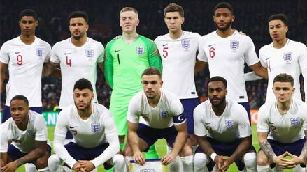 Inglaterra presentó su lista final de convocados para el Mundial Rusia 2018