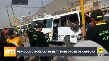 Dos mujeres murieron arrolladas por un 'Chosicano' en Ate