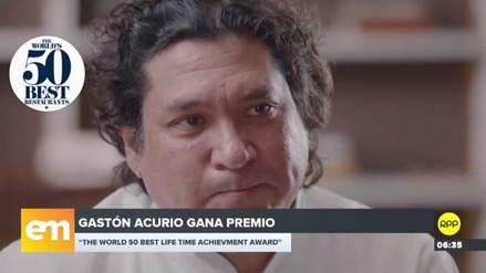 Gastón Acurio recibió distinción internacional por su trayectoria profesional
