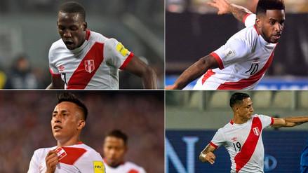 Estos son los 24 jugadores de la lista previa de Perú para el Mundial