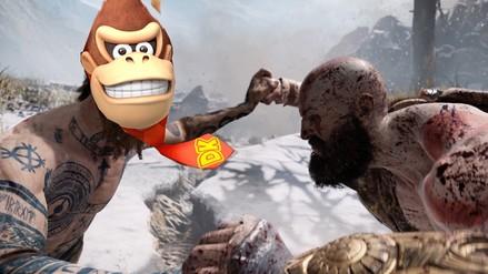 Kratos no puede derrotar a Donkey Kong