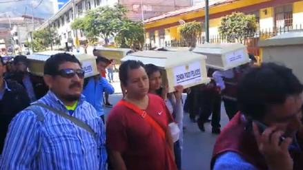 Entregan en Apurímac los restos de 14 víctimas de ejecuciones y desapariciones forzadas